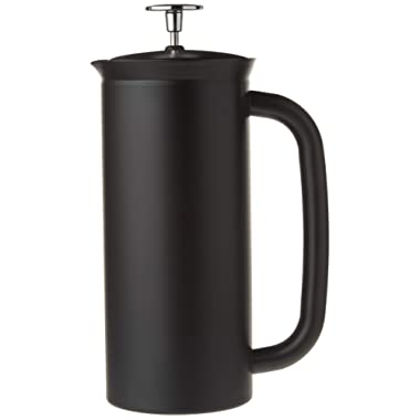 Espro 1018C2-17BK P7 Double Wall Vacuum Insulated Coffee Press, 18 oz, Matte Black