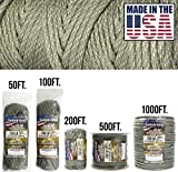 TOUGH-GRID 750lb DIGI-Camo Paracord/Parachute Cord - Genuine Mil Spec Type IV 750lb Paracord Used by The US Military (MIl-C-5040-H) - 100% Nylon - Made in The USA. 1000Ft. - DIGI-Camo