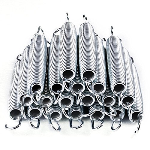 AW 20pcs 7'' Inch Galvanized Steel Trampoline Springs Galvanized Replacement Set by AW (Image #1)