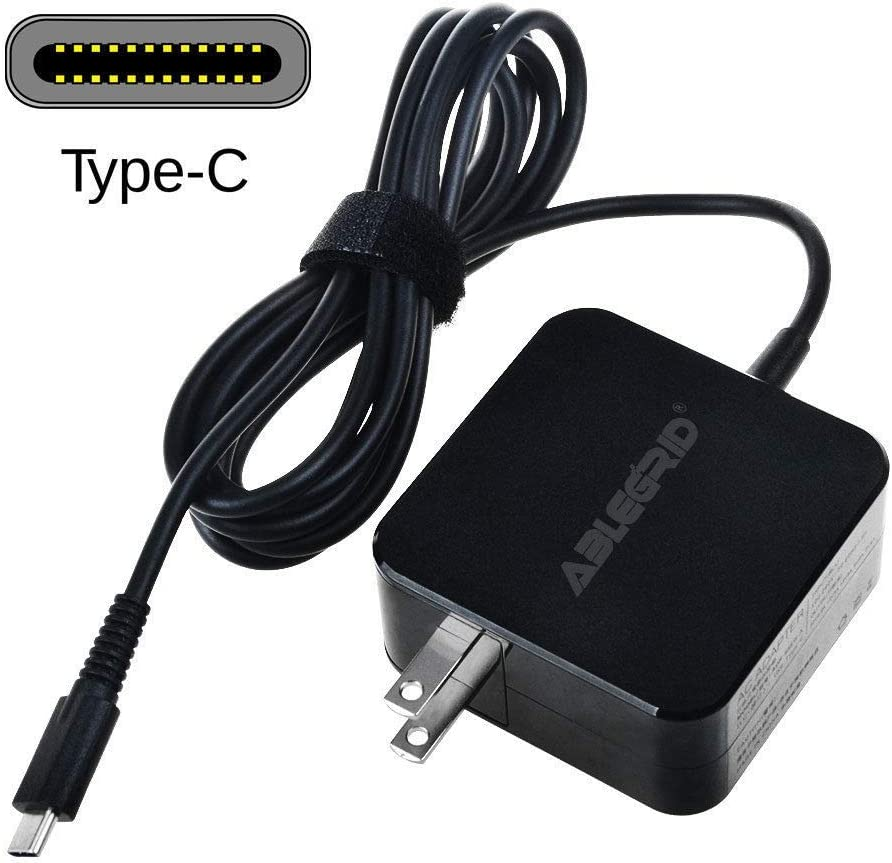 FYL 65W USB-C Charger Ac Adapter for HP Spectre x360 13-ac010ca 13-ac013dx Power PSU