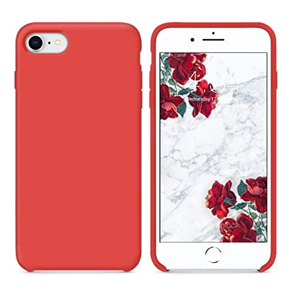 coque iphone 8 rouge