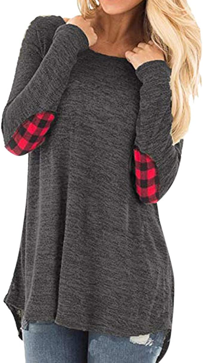 2XL,Gray Womens Tops,Sweaters for Women ClearanceLantern Sleeve Sweater Loose Thin Hoodies Blouse