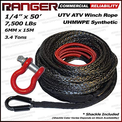 (RANGER ULTRANGER SY45 Black 7500LBs 1/4