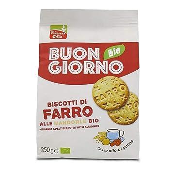 Amazon.com: Farro Bio Galletas de almendra: Health ...