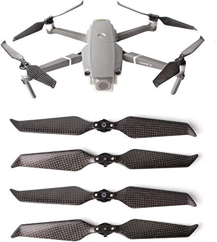 2 Pair for DJI MAVIC 2 PRO ZOOM Propellers Quick Release Low Noise NEW