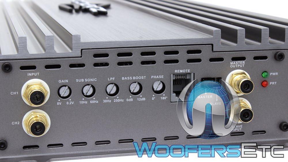 Zapco Z-2KD II Monoblock 2100W RMS Class D Z-KD II Series Amplifier
