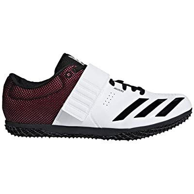 adidas Adizero Hj White/Black/Red Track Shoes (B37490): Shoes