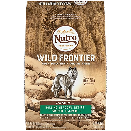 NUTRO WILD FRONTIER Adult Rolling Meadows Recipe With Lamb Grain Free Dry Dog Food (1) 24-lb. bag; Rich in Nutrients and Full of Flavor