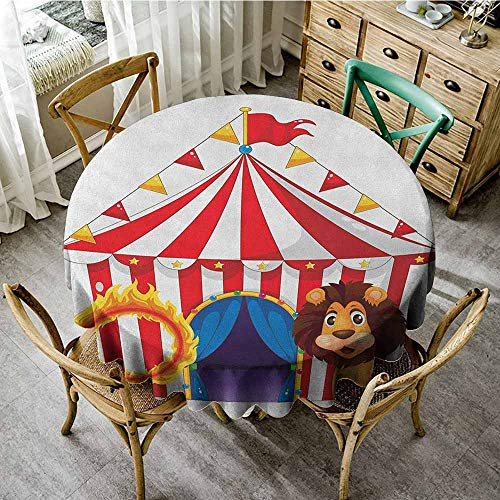 (Round Tablecloth with Umbrella Hole 63