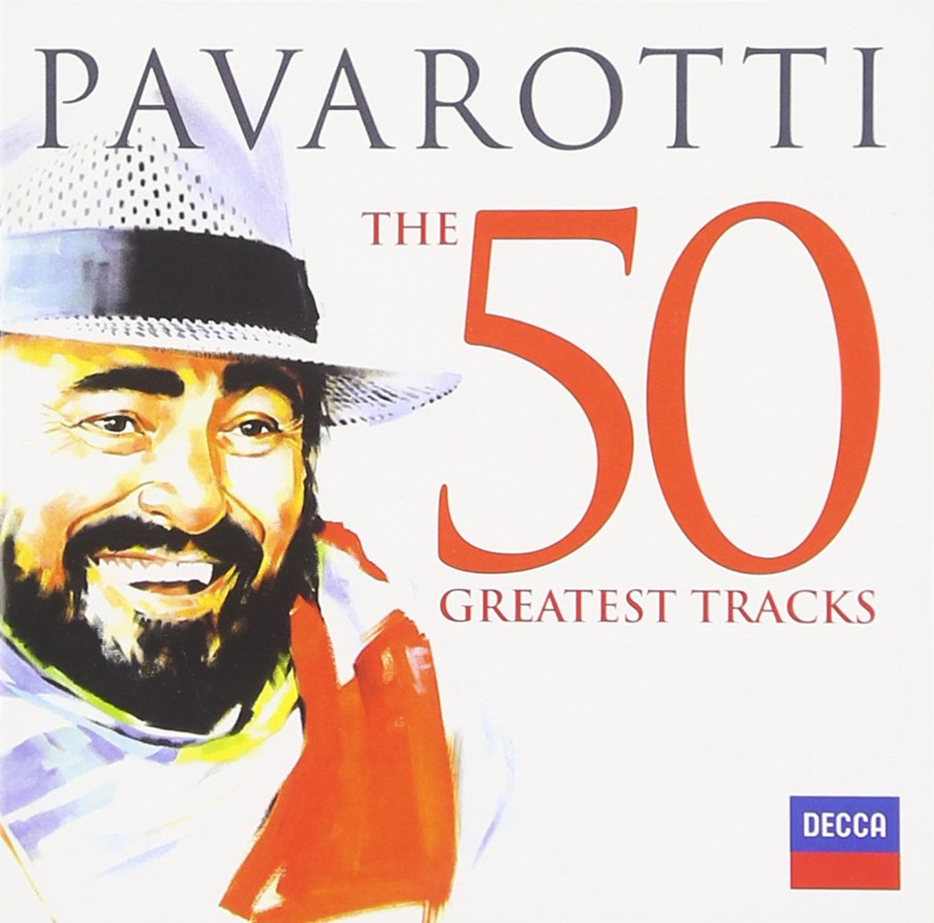 CD : Luciano Pavarotti - 50 Greatest Tracks (2 Disc)
