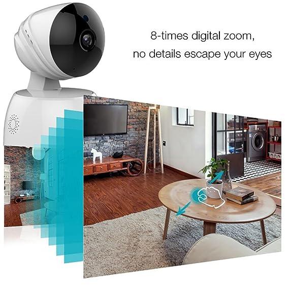 STCAM Cámara de seguridad WiFi HD 720P, Cámara IP de vigilancia domiciliaria con audio de dos vías, Detección de movimiento Bebé / Monitor de mascota ...