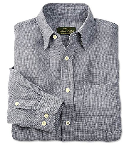 Orvis Long-sleeved Pure Linen Shirt / Pure Linen Shirts at Amazon Mens Clothing store: