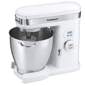 Cuisinart SM-70 7-Quart 12-Speed Stand Mixer, White