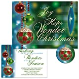 Palazzo Personalized Christmas Cards with Free Matching Seals (Set of 24)