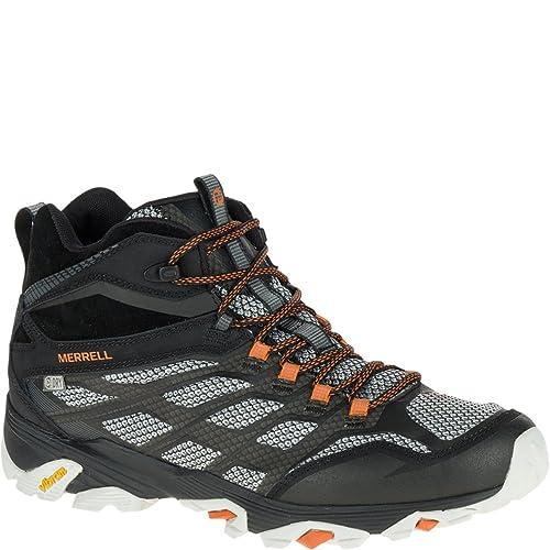 b73b2e9f959 Merrell Men's Moab Fst Mid Waterproof Hiking Shoe