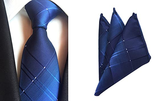 Amazon.com: l04baby para hombre azul clásico tela de ...