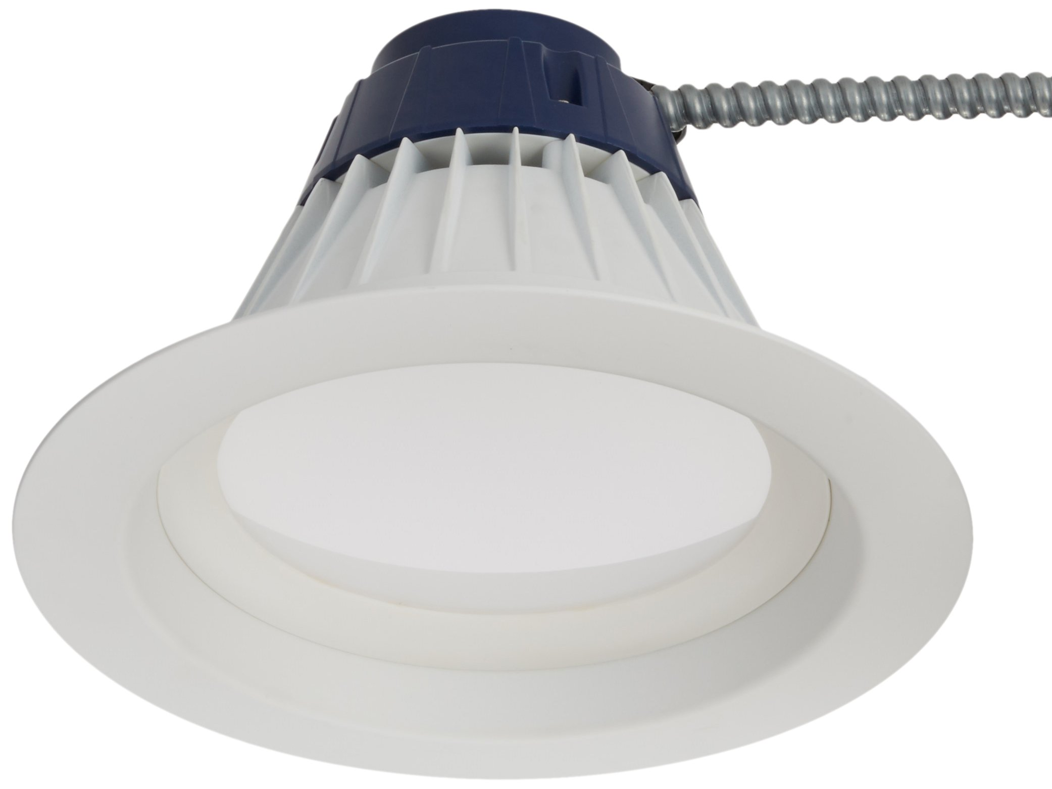 Sylvania 72509 LED/RT8/2000/840 8'' 27W (32W/42W Equal) 4000K LED RT8 Recessed Retrofit Kit, CFL Replacement