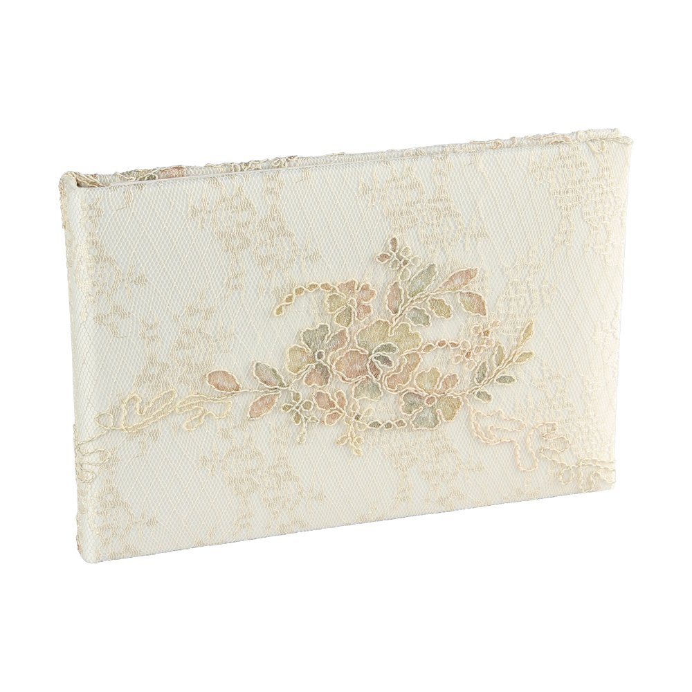 Florence Wedding Collection, Guest Book, Ivory
