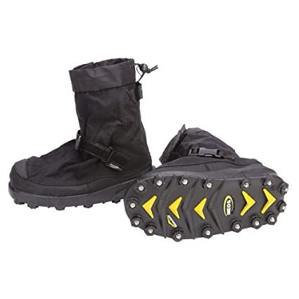 df52a2bc2984f4 Amazon.com  STABILicers Voyager Overshoe Traction Ice Cleat for Snow ...