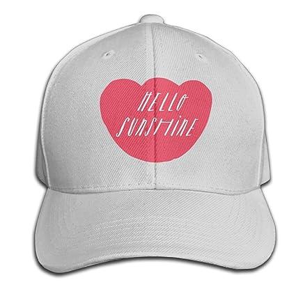 0eb484833e7b0 Yishuo Hello Sunshine - Mug Unisex Solid Color CapTennis Hat Adjustable