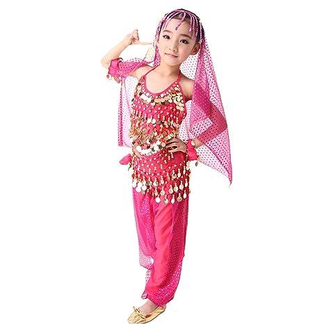 Amazoncom Symbollife Girls Belly Dance Costume Girls Children