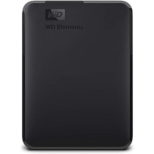 WD Elements Disco duro externo portátil de 2 TB con USB 3 0 color negro