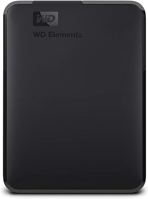 WD Elements - Disco duro externo portátil de 2 TB con USB 3.0 ...