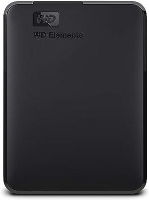 WD 2TB Elements Taşınabilir Harici Hard Disk - USB 3.0 - WDBU6Y0020BBK-WESN