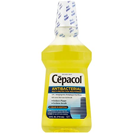 Cepacol Antibacterial Multi-Protection Mouthwash 24 oz Pack of 6