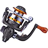 Fishing Reels MINI 10BB Spinning Wheel Metal 5.5: 1 Exquisite Spinning Reels Mini-type Fishing Gear Outdoor Tools