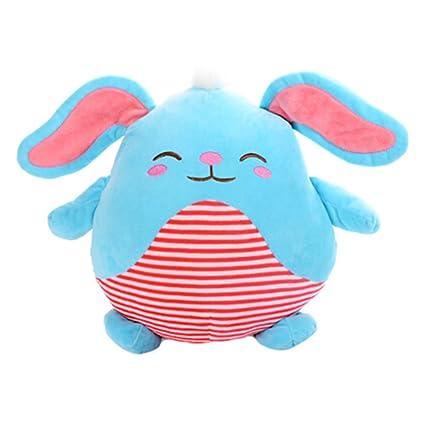 USB calentador de manos para manos bolsillo Waterless cálida mano suave almohada azul conejo