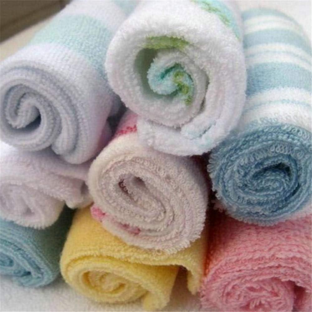 Petit mouchoir carr/é Lot de 8 serviettes dallaitement pour b/éb/é Convient /à tous les /âges
