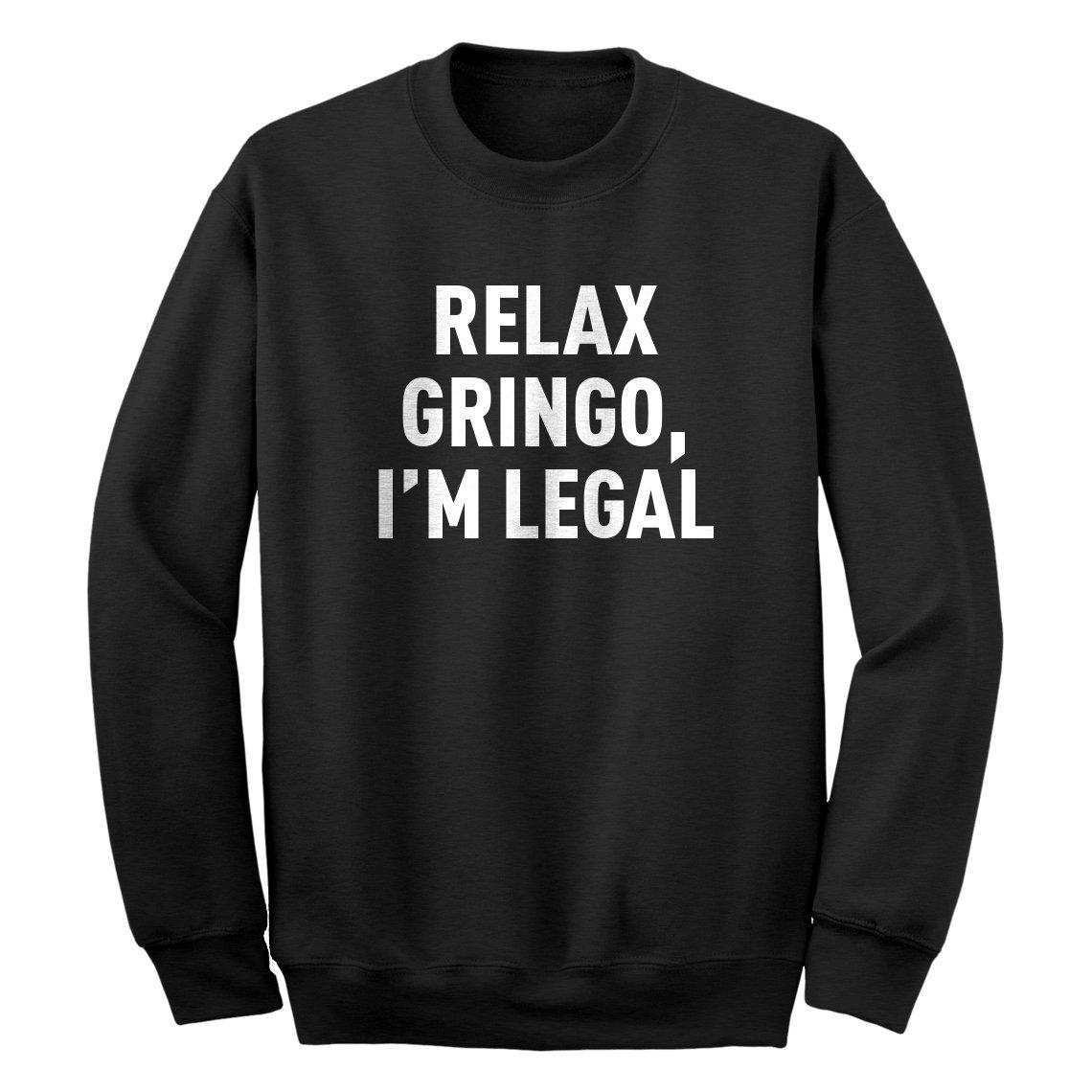 Indica Plateau Relax Gringo Unisex Adult Sweatshirt