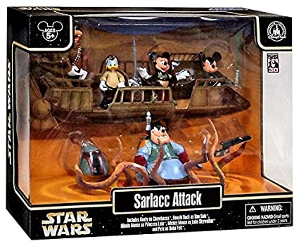 Disney Star Wars Weekends 2013 Sarlacc Attack 5 pc Action Figure Set -  Theme Park Exclusive Limited Edition