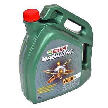 Aceites Castrol Magnatec motor 151B2E 5W-40 C3, 5 litros