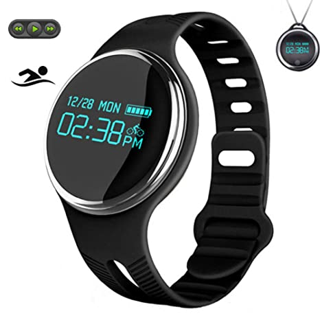 QNKEG Smart Watch Hombres/Mujeres Fitness Tracker/Música ...