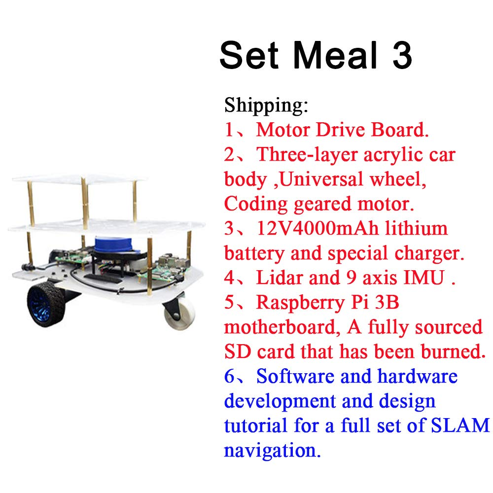 SLAM Builds a map Voice Navigation Speech Recognition ROS Smart Car System Package Content: 2 Speech Synthesis A Systematic Platform to Learning Robot Programming with ROS