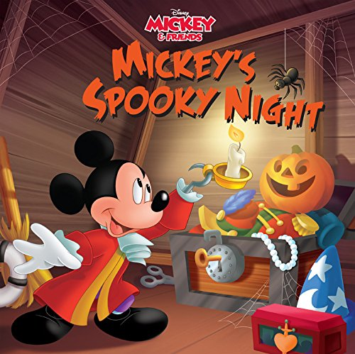 Mickey & Friends Mickey's Spooky Night: Purchase Includes Mobile App for iPhone and iPad! Read and Play]()