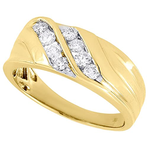 Mens 10k Wedding Bands