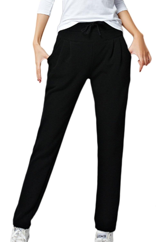 Les Femmes Les Plus Solides De Cordon Pantalons Chauds De Pantalons Taille Élastique