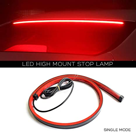 Amazon Com Ceyes Led Third Brake Light Strip Flexible High