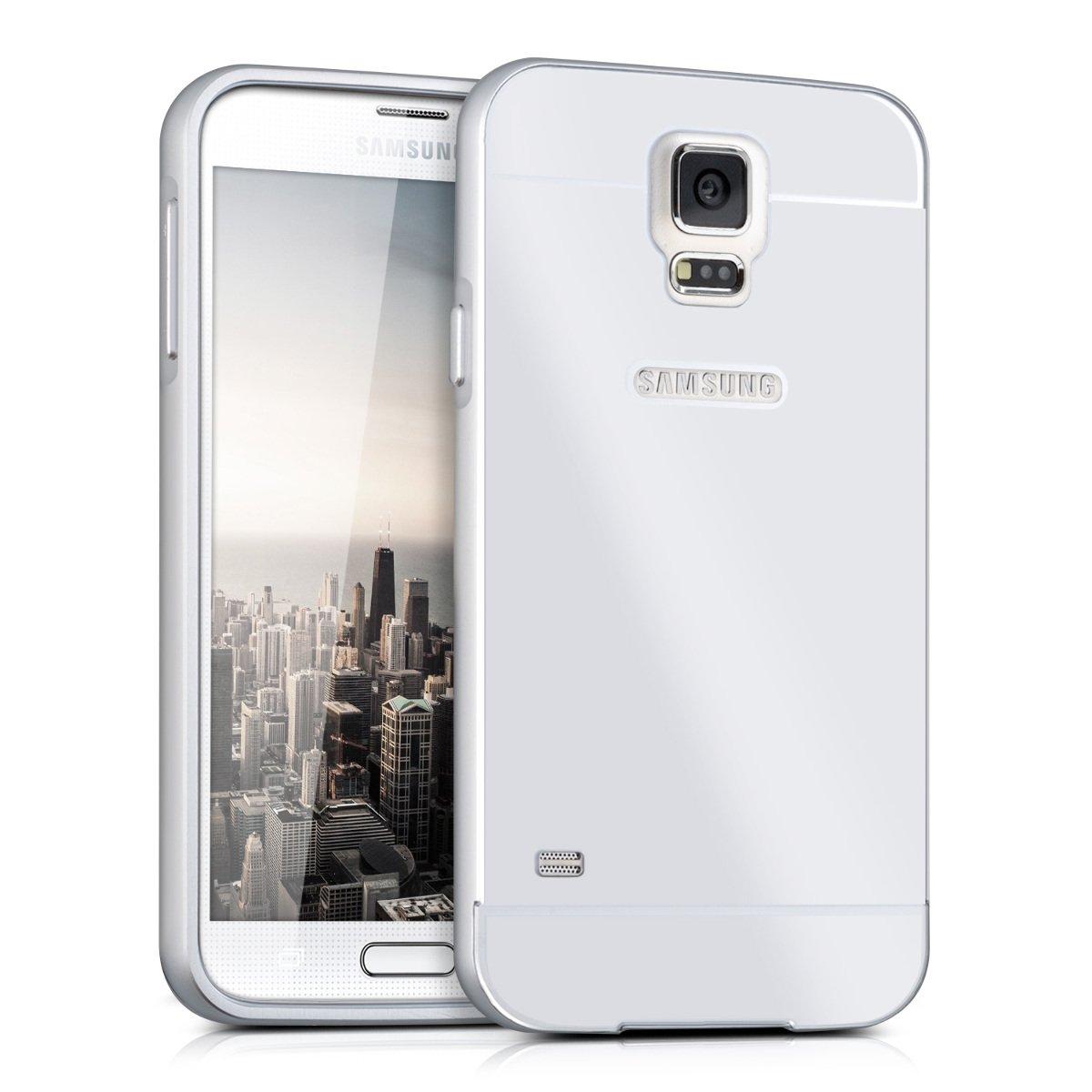 kwmobile Hülle mit Alu-Rahmen für Samsung: Amazon.de: Elektronik