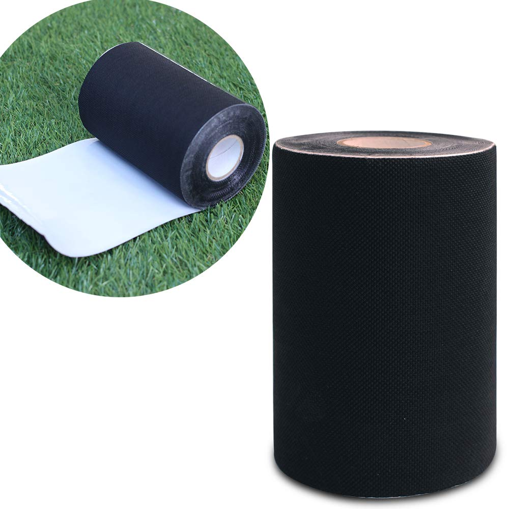 Artificial Grass Turf Tape Self-Adhesive Seaming Turf Tape, Carpet Jointing 6'' x49'(15cmx 15m)