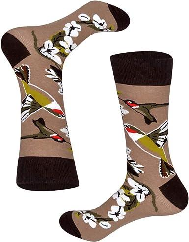Eanijoy Divertidos calcetines casuales de algodón, Men Winter ...