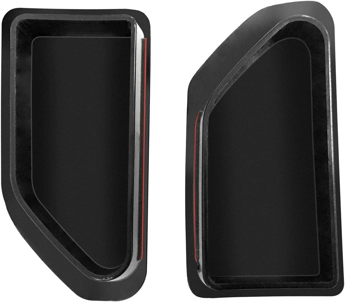 Landrol Truck Bed Rail Post Stake Pocket Covers Set of 2 Replacement for 2019 2020 Silverado GMC Sierra
