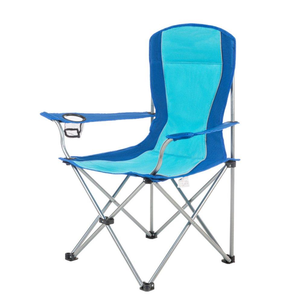 LE Klappbarer Campingstuhl im Freien/Portable/Kompakt/Strandkorb/mit/Getränkehalter/Heavy Duty/Campingstühle