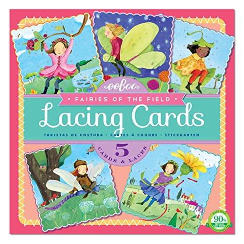eeBoo–Lacing Cards Fairies in The Field (lcfai) ()