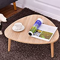 Triangular Top Sofa Side End Accent Coffee Table - By Choice Products