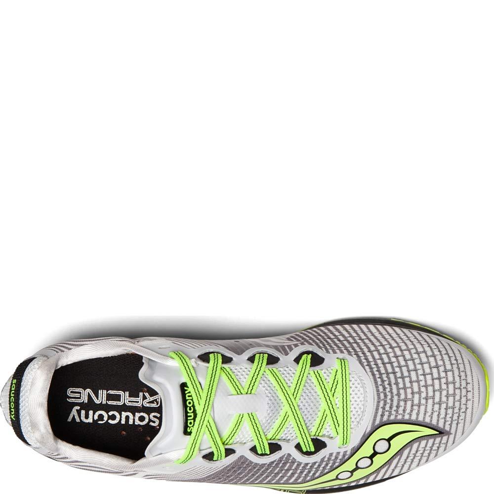 Saucony Type A8 Shoes Herren WhiteBlackCitron 2019 Laufsport Schuhe