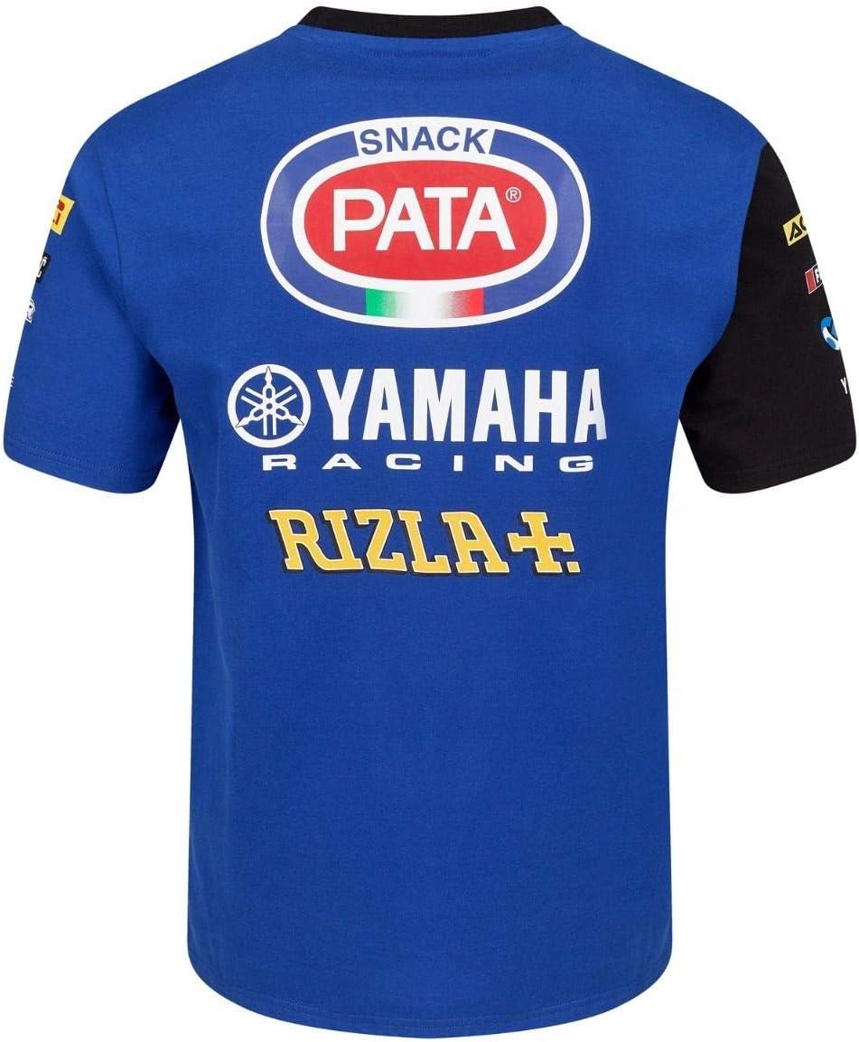 team corrente Yamalube Maglietta Yamaha da paddock pitlain L